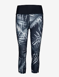 GapFit High Rise Print Capris in Sculpt Revolution - leggings - palm print