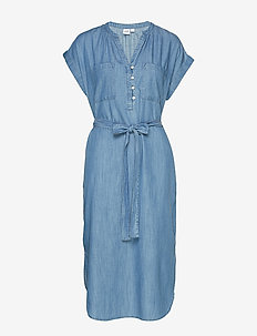 SS PKT SHIRTDRESS - TNCL - MEDIUM INDIGO 8