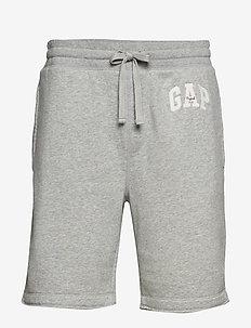 "9"" Gap Logo Fleece Shorts - B10 GREY HEATHER"