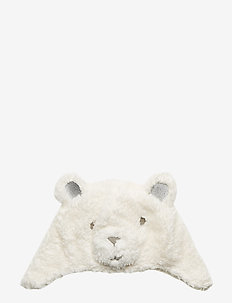 Toddler Polar Bear Trapper Hat - IVORY FROST