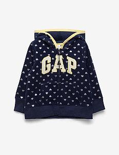 Toddler Gap Logo Hoodie Sweatshirt - NAVY UNIFORM