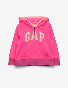 Toddler Gap Logo Hoodie Sweatshirt - PINK LIGHT