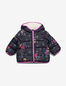 Toddler ColdControl Max Puffer - puffer & padded - navy floral