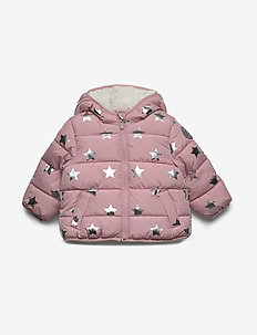 Toddler ColdControl Max Puffer - puffer & padded - pink stars