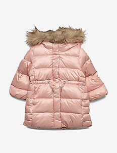 Toddler ColdControl Ultra Max Down Long Parka - puffer & padded - pink champagne