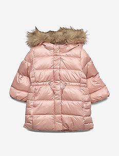 Toddler ColdControl Ultra Max Down Long Parka - dunjakker & forede jakker - pink champagne