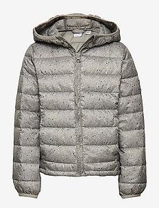 Kids ColdControl Lightweight Puffer - dunjakker & forede jakker - heather grey