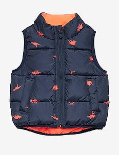 Toddler ColdControl Max Reversible Vest - veste - neon orange v2