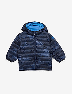 CHOL DN LTWT PFFR - puffer & padded - blue camo