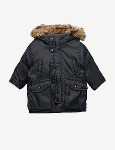 Toddler ColdControl Ultra Max Down Parka - parkas - true black v2 2
