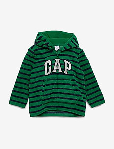 Baby Brannan Bear Gap Logo Sweatshirt - PRESIDENT GREEN