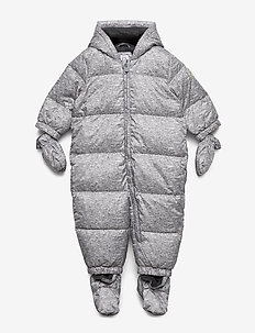 Baby ColdControl Ultra Max Down Snowsuit - snowsuit - flint grey
