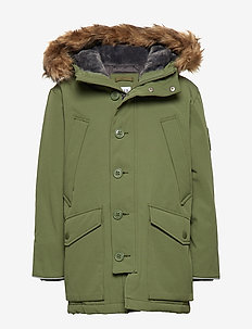 Kids ColdControl Ultra Max Down Parka - DESERT CACTUS