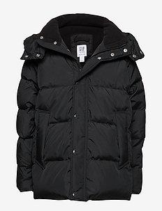 DWN WRMST JKT - puffer & padded - true black