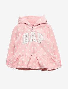Baby Gap Logo Hoodie Sweatshirt - PINK STANDARD