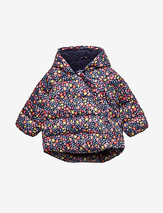 Baby ColdControl Max Kimono Jacket - puffer & padded - navy floral