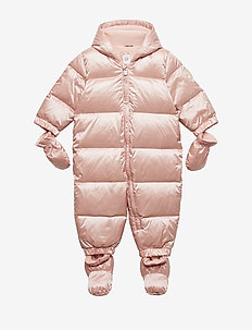 Baby ColdControl Ultra Max Down Snowsuit - snowsuit - pink champagne