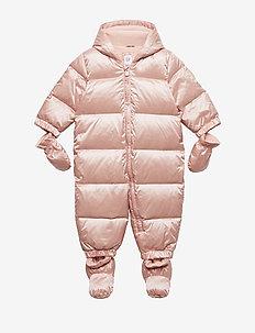 Baby ColdControl Ultra Max Down Snowsuit - vintertøj - pink champagne