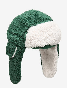 Kids Sherpa Trapper Hat - huer - evergreen glamour