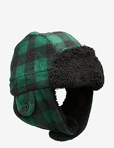 Toddler Sherpa Trapper Hat - huer - evergreen glamour