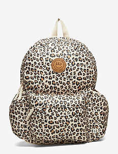 Kids Leopard Senior Backpack - LEOPARD PRINT