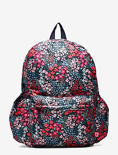 Kids Floral Senior Backpack - NAVY FLORAL