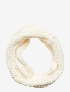 Kids Cable-Knit Neckwarmer - Écharpes - ivory frost