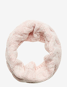 Kids Cable-Knit Neckwarmer - PINK STANDARD