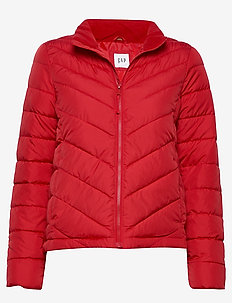 V-WARMEST LW PUFFER JACKET - pure red v2