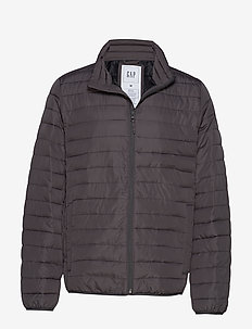 V-LIGHTWEIGHT PUFFER - SOFT BLACK