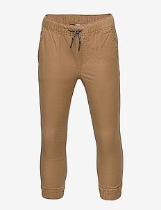 Kids Stretch Khaki Joggers - pantalons - cream caramel