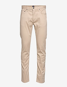 Soft Wear Slim Jeans with GapFlex - pantalons chino - khaki1