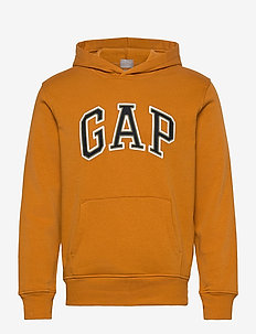 Gap Arch Logo Hoodie - kapuzenpullover - autumn orange