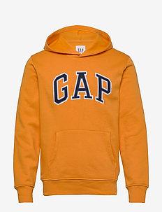 Gap Arch Logo Hoodie - hoodies - zesty orange