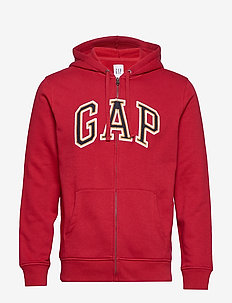 Gap Logo Hoodie - hættetrøjer - lasalle red