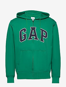 XLS FT ARCH FZ HD - basic sweatshirts - green shade 183