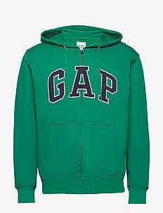 XLS FT ARCH FZ HD - basic sweatshirts - green shade 183