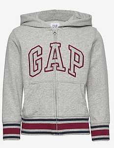 FT GAP ARCH FZ - LIGHT HEATHER GREY B08