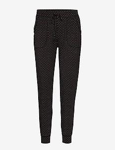 Truesleep Modal Joggers - bukser med lige ben - black dots