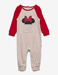babyGap | Disney Minnie Mouse One-Piece - OATMEAL HEATHER B0281