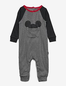 babyGap | Disney Mickey Mouse One-Piece - B10 GREY HEATHER