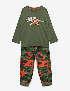 Kids Dino Camo PJ Set - TWIG