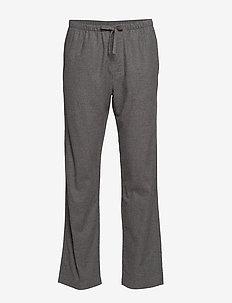 Flannel Pajama Pants - B50-B10 CHARCOAL GREY