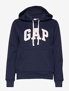 Gap Logo Pullover Hoodie - hoodies - navy uniform
