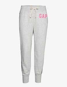 Gap Logo Colorblock Joggers - LIGHT HEATHER GREY