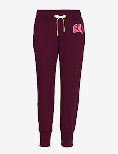 Gap Logo Joggers in French Terry - SECRET PLUM