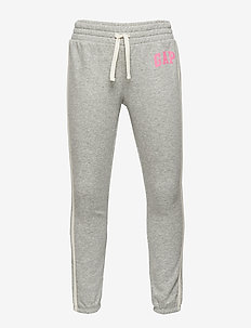 Kids Gap Logo Joggers - LIGHT HEATHER GREY V3