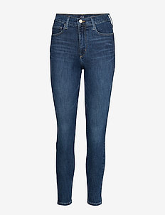 High Rise Favorite Jeggings with Secret Smoothing Pockets - DARK INDIGO V2