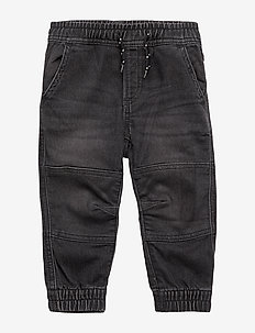Toddler Moto Joggers - BLACK WASH