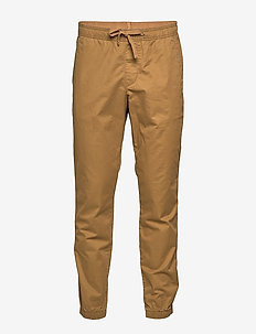 Slim Twill Joggers with GapFlex - casual trousers - palomino brown global